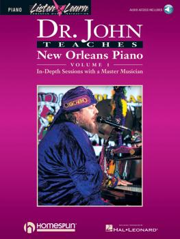 Dr. John Teaches New Orleans Piano - Volume 1 (HL-00699090)