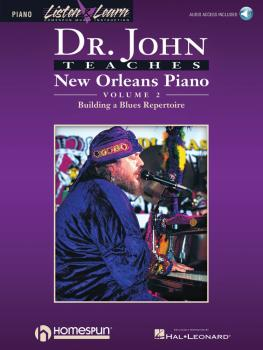 Dr. John Teaches New Orleans Piano - Volume 2 (HL-00699093)
