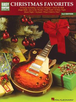 Christmas Favorites - 2nd Edition: Easy Guitar with Notes & Tab (HL-00699097)