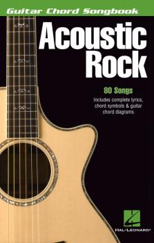 Acoustic Rock: Guitar Chord Songbook 6 inch. x 9 inch. (HL-00699540)