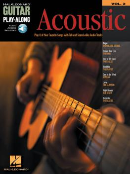 Acoustic: Guitar Play-Along Volume 2 (HL-00699569)