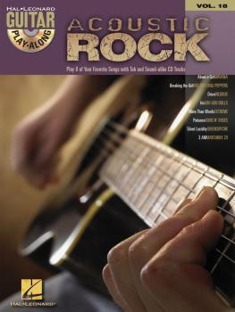 Acoustic Rock: Guitar Play-Along Volume 18 (HL-00699577)