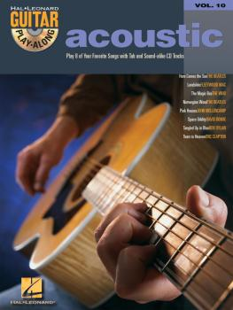 Acoustic: Guitar Play-Along Volume 10 (HL-00699586)