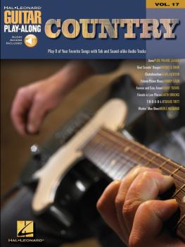 Country: Guitar Play-Along Volume 17 (HL-00699588)