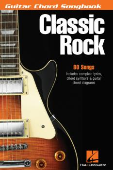 Classic Rock: Guitar Chord Songbook 6 inch. x 9 inch. (HL-00699598)