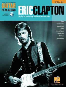 Eric Clapton: Guitar Play-Along Volume 24 (HL-00699649)
