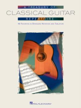 A Treasury of Classical Guitar Repertoire (HL-00699671)
