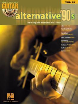 Alternative '90s: Guitar Play-Along Volume 51 (HL-00699727)