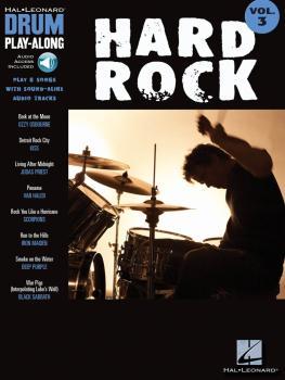 Hard Rock: Drum Play-Along Volume 3 (HL-00699743)