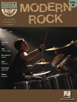 Modern Rock: Drum Play-Along Volume 4 (HL-00699744)