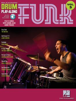 Funk: Drum Play-Along Volume 5 (HL-00699745)