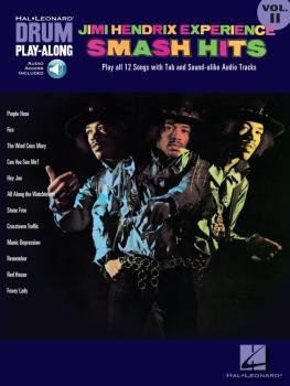 Jimi Hendrix Experience - Smash Hits: Drum Play-Along Volume 11 (HL-00699835)