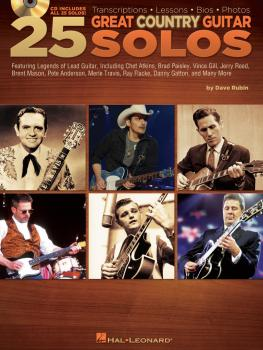 25 Great Country Guitar Solos: Transcriptions · Lessons · Bios · Photo (HL-00699926)