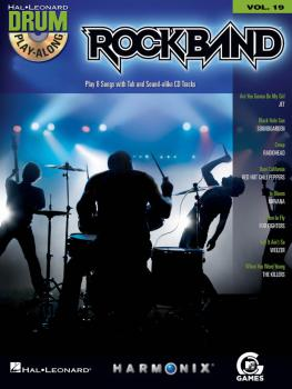 Rock Band: Drum Play-Along Volume 19 (HL-00700707)