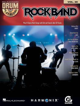 Rock Band: Drum Play-Along Volume 20 (HL-00700708)
