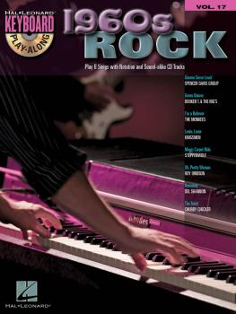 1960s Rock: Keyboard Play-Along Volume 17 (HL-00700935)
