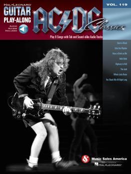 AC/DC Classics: Guitar Play-Along Volume 119 (HL-00701356)