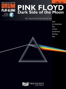 Pink Floyd - Dark Side of the Moon: Drum Play-Along Volume 24 (HL-00701612)