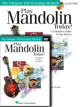 Play Mandolin Today! Beginner's Pack: Level 1 Book/CD/DVD Pack (HL-00701874)