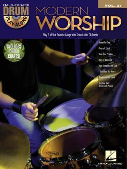 Modern Worship: Drum Play-Along Volume 27 (HL-00701921)