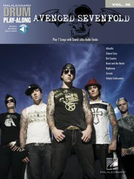 Avenged Sevenfold: Drum Play-Along Volume 28 (HL-00702388)