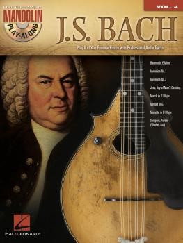 J.S. Bach: Mandolin Play-Along Volume 4 (HL-00702520)