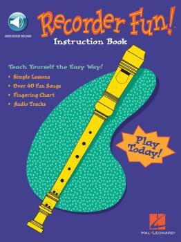 Recorder Fun! Teach Yourself the Easy Way! (HL-00710005)