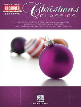 Christmas Classics: Hal Leonard Recorder Songbook (HL-00710054)