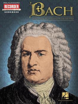 Bach: Hal Leonard Recorder Songbook (HL-00710190)