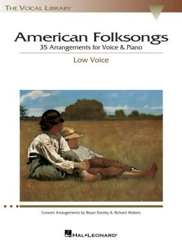 American Folksongs: The Vocal Library Low Voice (HL-00740188)