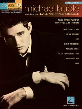 Michael Bublé - Call Me Irresponsible: Pro Vocal Men's Edition Volume  (HL-00740452)