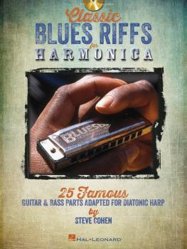 Classic Blues Riffs for Harmonica: 25 Famous Guitar & Bass Parts Adapt (HL-00821044)