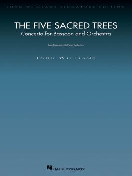The Five Sacred Trees: Concerto for Bassoon and Orchestra: Bassoon wit (HL-00841055)