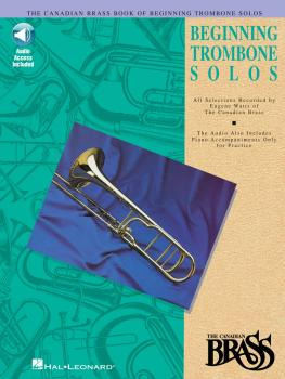 Canadian Brass Book of Beginning Trombone Solos (with a CD of performa (HL-00841143)