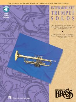 Canadian Brass Book of Intermediate Trumpet Solos: Trumpet and Piano w (HL-00841149)