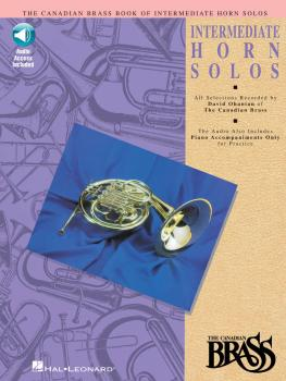 Canadian Brass Book of Intermediate Horn Solos (Book/CD Pack) (HL-00841150)