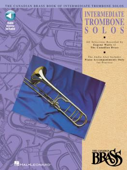 Canadian Brass Book of Intermediate Trombone Solos (with online audio  (HL-00841151)