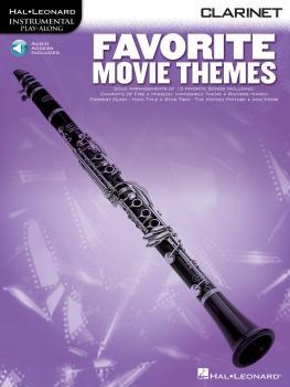 Favorite Movie Themes (Clarinet) (HL-00841167)