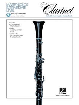 Master Solos Intermediate Level - Clarinet (Book/Online Audio) (HL-00841324)