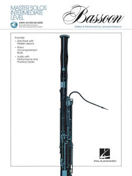 Master Solos Intermediate Level - Bassoon (Book/CD Pack) (HL-00841326)