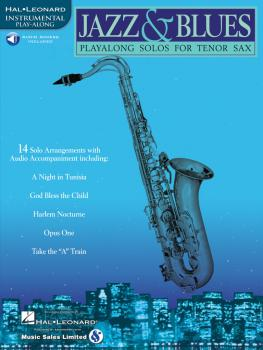 Jazz & Blues: Play-Along Solos for Tenor Sax (HL-00841442)