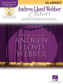 Andrew Lloyd Webber Classics - Clarinet: Clarinet Play-Along Book/CD P (HL-00841826)