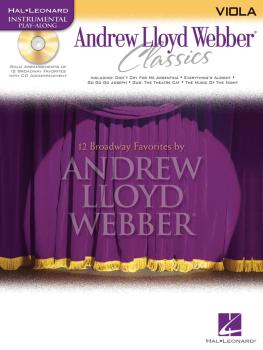 Andrew Lloyd Webber Classics - Viola: Viola Play-Along Book/CD Pack (HL-00841834)