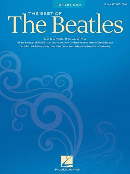 Best of the Beatles - 2nd Edition (Tenor Sax) (HL-00842115)