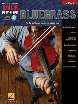 Bluegrass: Violin Play-Along Volume 1 (HL-00842152)