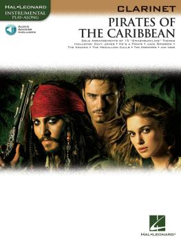 Pirates of the Caribbean (for Clarinet) (HL-00842184)