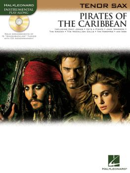 Pirates of the Caribbean (for Tenor Sax) (HL-00842186)