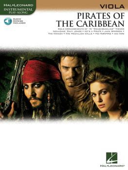 Pirates of the Caribbean (for Viola) (HL-00842191)