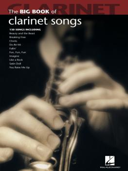 Big Book of Clarinet Songs (HL-00842208)