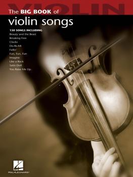 Big Book of Violin Songs (HL-00842214)